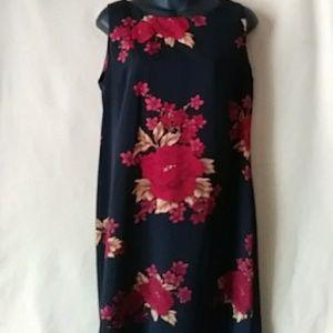 Studio 1 sleeveless floral maxidress - sz 10